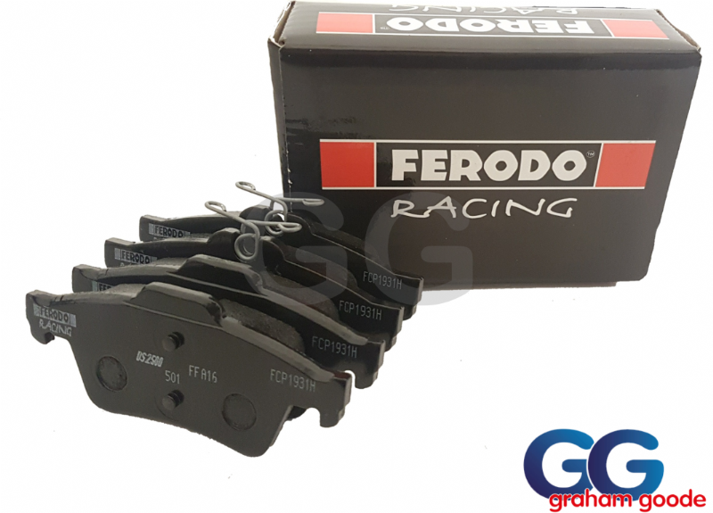 Focus RS Mk3 Ferodo DS2500 Rear Brake Pads